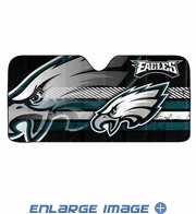 Front Windshield Sunshade - Accordion Style - Car Truck SUV - Philadelphia Eagles