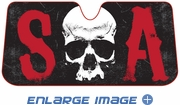 Front Windshield Sunshade - Accordion Style - Car Truck SUV - Sons of Anarchy