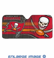 Front Windshield Sunshade - Accordion Style - Car Truck SUV - Tampa Bay Buccaneers