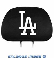 Headrest Covers - Car Truck SUV - Los Angeles Dodgers - Pair