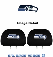 Headrest Covers - Car Truck SUV - Seattle Seahawks - pair