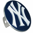 Hitch Plug Receiver Cover - Metal - MLB - New York Yankees
