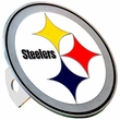 Hitch Plug Receiver Cover - Metal - NFL - Pittsburgh Steelers