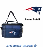 Insulated Cooler Lunch Bag - 6 Pack - New England Patriots