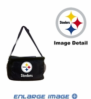 Insulated Cooler Lunch Bag - 6 Pack - Pittsburgh Steelers