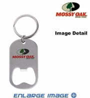 Key Chain - Bottle Opener - Infinity Camo - Mossy Oak