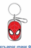 Key Chain - Dog Tag - Marvel Comics - Spider-Man