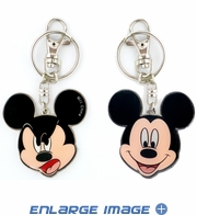 Key Chain - Double Sided - Mickey Mouse