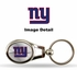 Key Chain - Metal Oval - New York Giants