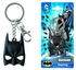 Key Chain - Pewter - DC Comics - Batman - Mask