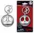 Key Chain - Pewter - Nightmare Before Christmas - Jack Skellington - Smiling