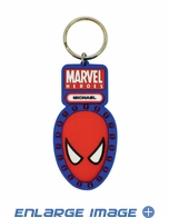 Key Chain - PVC Soft Touch - Car Truck SUV - Marvel Comics - Spider-Man