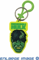 Key Chain - PVC Soft Touch - Car Truck SUV - Marvel Comics - The Incredible Hulk