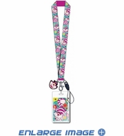 Lanyard with ID Card Holder - Car Truck SUV - Disney - AIW - Cheshire Cat