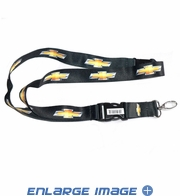 Lanyard with Key Chain Clip - Chevy - Logo