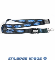 Lanyard with Key Chain Clip - Ford - Logo