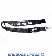 Lanyard with Key Chain Clip - Star Wars - Darth Vader