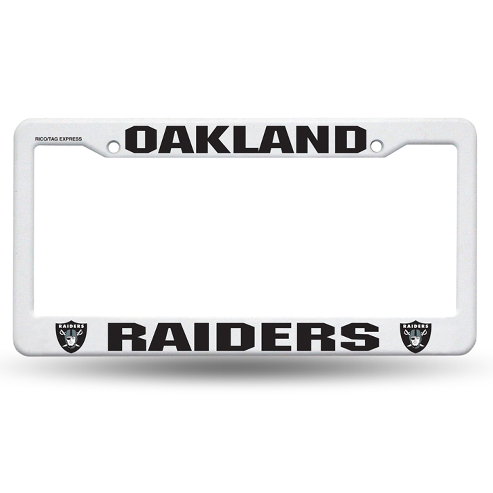 Fancy Raiders License Plate Frames Gallery - Picture Frame Ideas ...