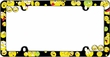 License Plate Frame - Plastic - Car Truck SUV - Attitudes - Smiley Faces