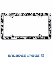 License Plate Frame - Plastic - Car Truck SUV - Disney - Nightmare Before Christmas - Jack Skellington Heads