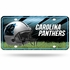 License Plate Tag Metal - Car Truck SUV - Carolina Panthers