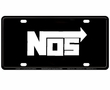 License Plate Tag - Metal - Car Truck SUV - NOS - White