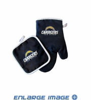 Oven Mitt and Potholder - Kitchen Set - San Diego Chargers