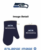 Oven Mitt and Potholder - Kitchen Set - Seattle Seahawks