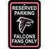 Parking Sign - Reserved Parking - Atlanta Falcons -