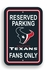 Parking Sign - Reserved Parking - Houston Texans -