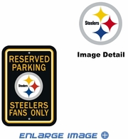 Parking Sign - Reserved Parking - Pittsburgh Steelers -