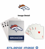 Playing Cards - Blackjack Poker - Denver Broncos