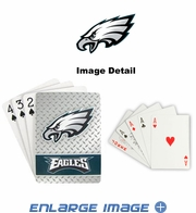 Playing Cards - Blackjack Poker - Philadelphia Eagles