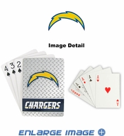Playing Cards - Blackjack Poker - San Diego Chargers