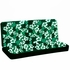 Rear Car Truck SUV Bench Seat Cover - Hawaiian Aloha - Hibiscus Flower - Green