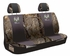 Rear Car Truck SUV Bench Seat Cover - Camouflage - Bone Collector