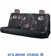 Rear Car Truck SUV Bench Seat Cover - Camouflage - Mossy Oak - Switch Back - Infinity Lifestyle Camo