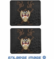 Rear Seat Utility Rubber Floor Mats - Warner Bros. - Taz - PAIR