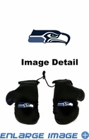 Rearview Mirror - Mini Boxing Gloves - Seattle Seahawks