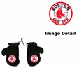 Rearview Mirror - Mini Boxing Gloves - Boston Red Sox
