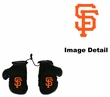 Rearview Mirror - Mini Boxing Gloves - San Francisco Giants
