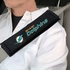 Seat Belt Shoulder Pads - Car Truck SUV - Miami Dolphins - PAIR