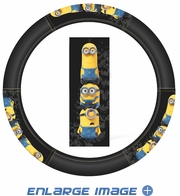 Steering Wheel Cover - Car Truck SUV - Despicable Me - Minions - Crowd