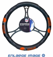 Steering Wheel Cover - Car Truck SUV - Vinyl - Cleveland Browns
