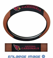 Steering Wheel Cover - Embroidered Football Skin - Car Truck SUV - NFL - Arizona Cardinals