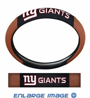Steering Wheel Cover - Embroidered Football Skin - Car Truck SUV - NFL - New York Giants