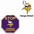 Stop Sign - STOP -  Minnesota Vikings - VIKINGS COUNTRY