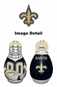 Tackle Buddy Inflatable Punching Bop Bag - Mini Size - New Orleans Saints