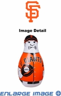 Tackle Buddy Inflatable Punching Bop Bag - Mini Size - San Francisco Giants