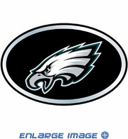 Trunk Emblem - Color Oval - Car Truck SUV - NFL - Philadelphia Eagles